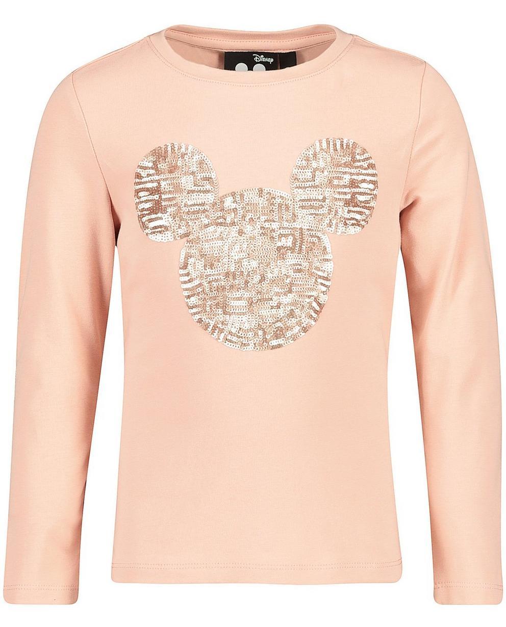 T-Shirts - Pink - Longsleeve mit Pailletten